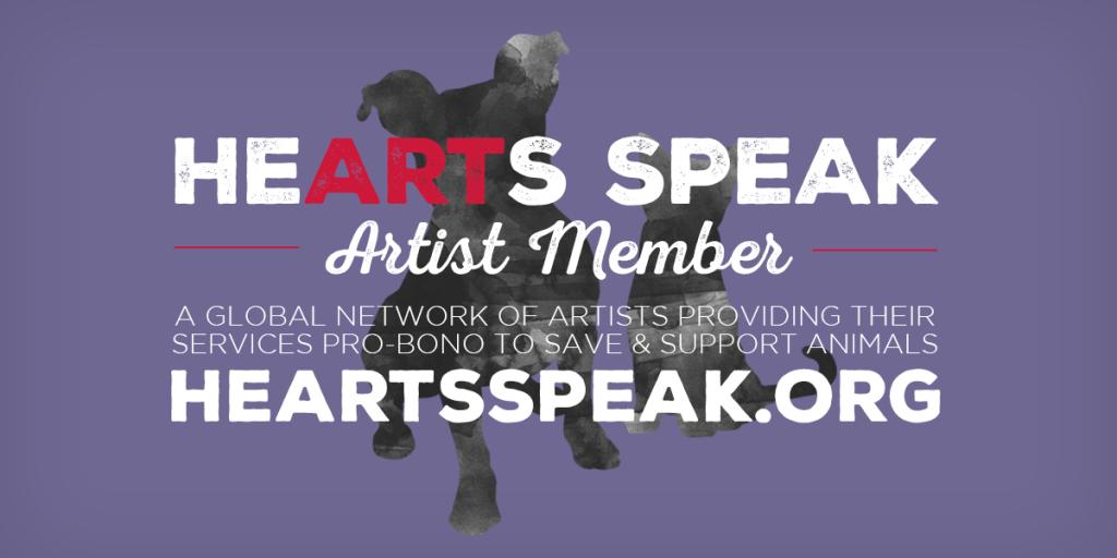HeARTs Speak Artist Member Banner